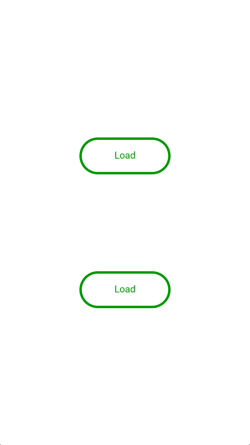 Animated loading buttons